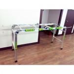 PRT-200L 3단 접이식 마대걸이 분리수거대 (5분류)